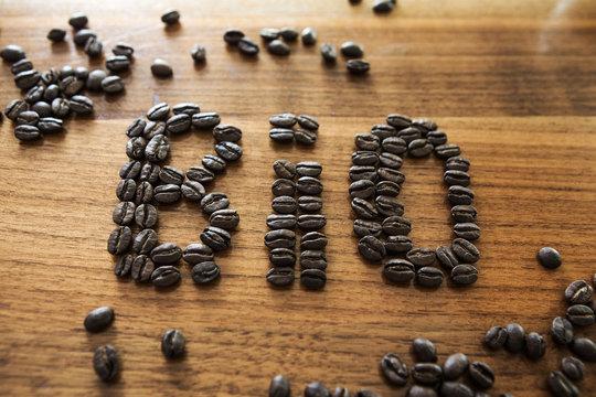 Bio Kaffee Bohnen