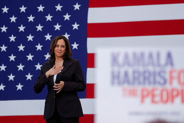 U.S. Senator Kamala Harris holds her first organizing event in Los Angeles as she campaigns in the 2020 Democratic presidential nomination race in Los Angeles