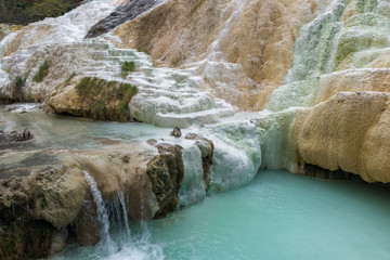 Hot Springs of Bagni San Filippo, Orcia Valley, Italy