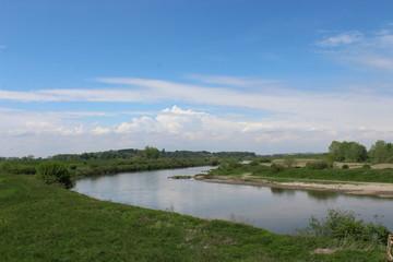 Zakole rzeki Wisły