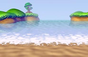 Seashore • Seascape • Bay • Reef