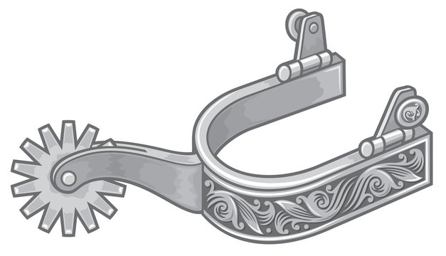 spurs vector icon
