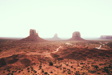Wall Mural - Monument Valley, Arizona, USA