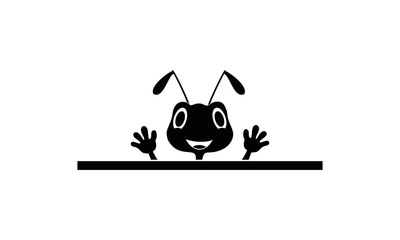 Ant illustration symbol