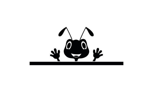 Ant illustration symbol