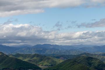 金華山からの景色