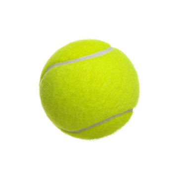 Сlose-up of tennis ball