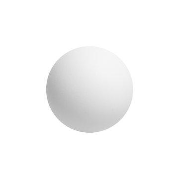 White ping-pong ball