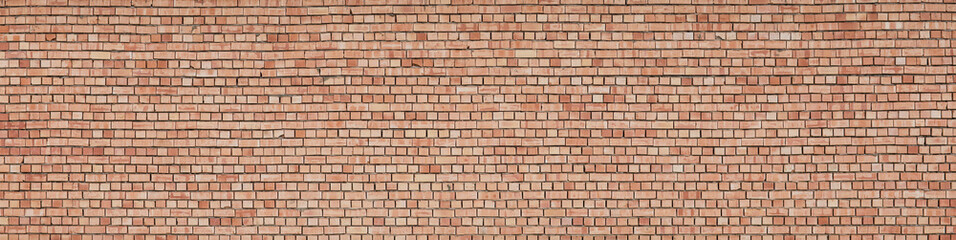 new brown fresh brick wall