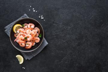 Shrimps, Prawns in bowl