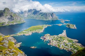 Bucht von Reine, Lofoten, Norwegen