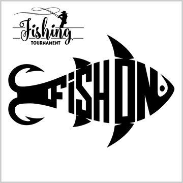 Fishing Logo - vector stock illustration