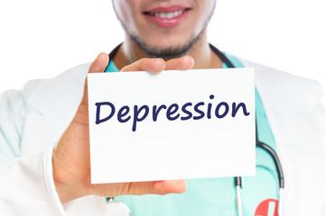 Depression depressed burnout ill illness healthy doctor treatment health