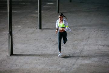 Professional runner.