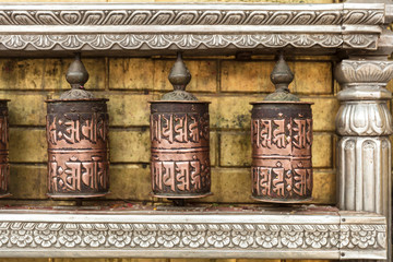 Indian Prayer Wheels