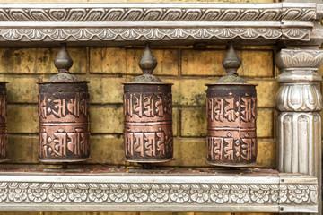 Indian Prayer Wheels