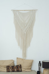 Macrame Hanging On A Wall
