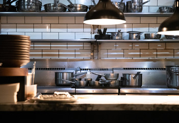 Commercial kitchen and pass