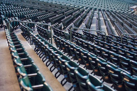 Stadium Seats in rows