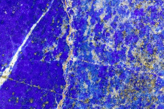 Lapis lazuli closeup