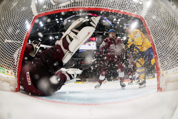 Ice Hockey World Championships - Group B - Sweden v Latvia