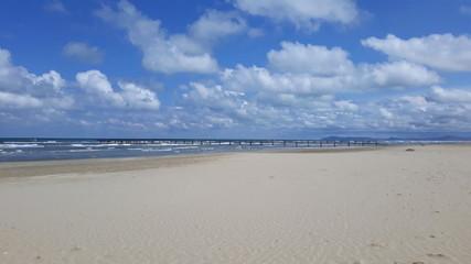 plaża w Rymini - Wochy