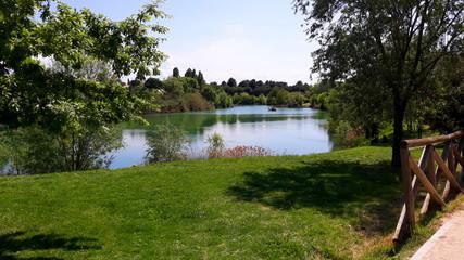 Parco Giovanni Paolo II, Lago Maryiotti - Rymini, Włochy