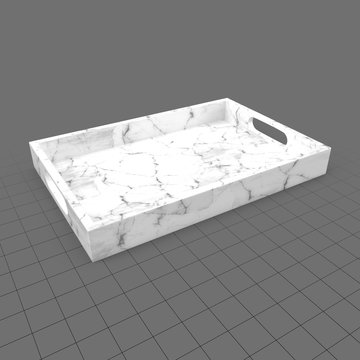 Modern serving tray