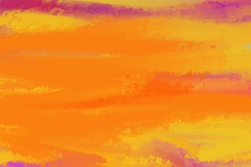 warm autumn coloring, creative painting for abstract background