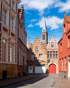 Bruges Street, Belgium, Europe