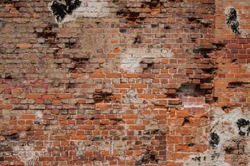 brick wall background - old brick stone wall -