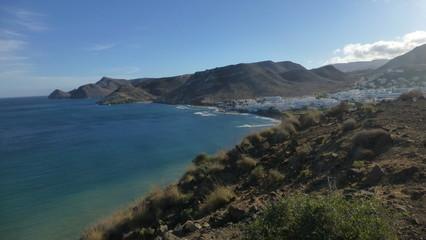 Cabo de Gata. Las Negras. Almeria, Andalusia,Spain