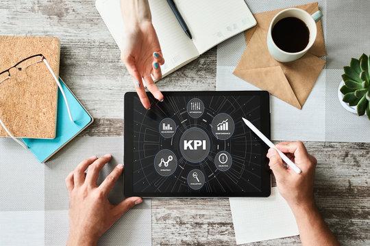 KPI - Key performance indicator. Business process efficiency improvement.