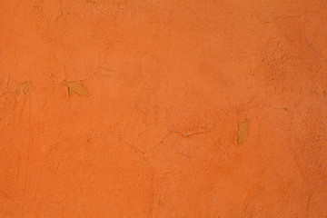 Old orange textures wall background. Perfect background with space.