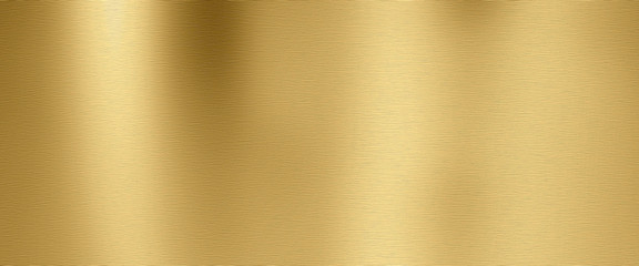 Golden metal texture background