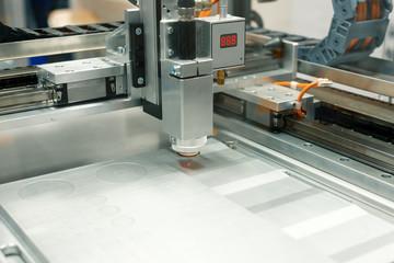CNC laser cutting machine.