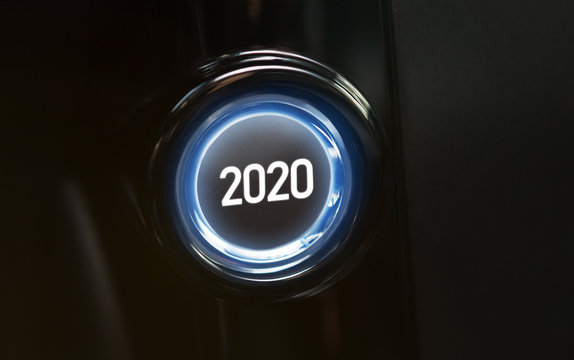 2020 year is coming concept