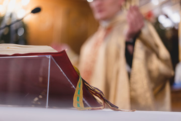 Fototapeta Msza święta obraz