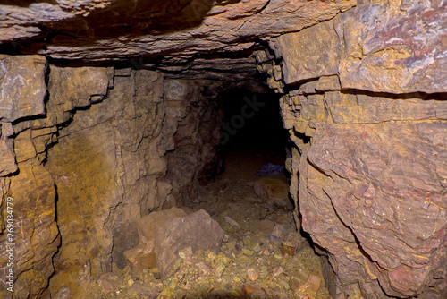Abandoned to the Darkness  An abandoned mineshaft in the
