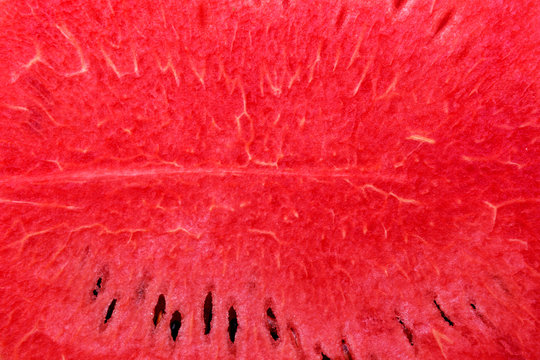 Texture of red ripe watermelon