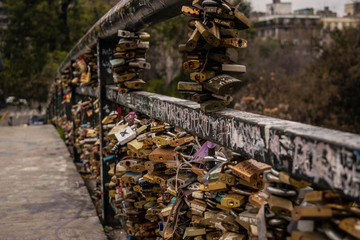 padlocks bridge