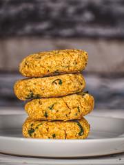 Vegetarian Lentil Burger - fototapety na wymiar