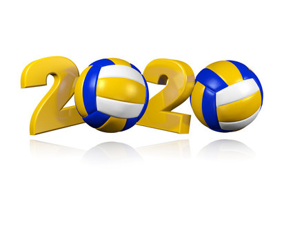 Beach Volleyball 2020 Design