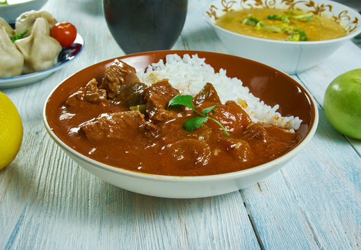 Lamb and apricot Cape Malay curry