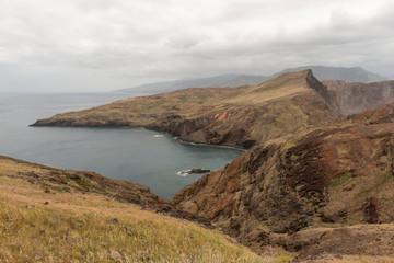 Acantilados de la Isla de Madeira, Portugal
