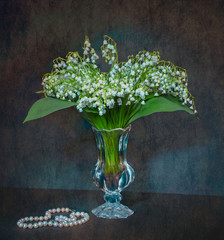 Wall Murals Lily of the valley Lily of the valley 1