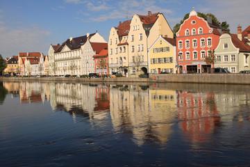 Am Isargestade in Landshut