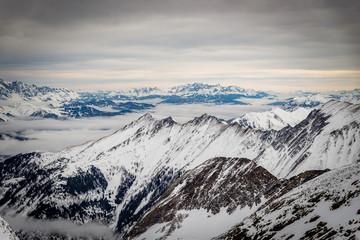 Skigebiet Zell am See, Kaprun und Kitzsteinhorn