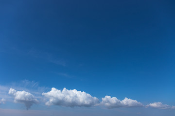 Canvas Prints blue sky with clouds