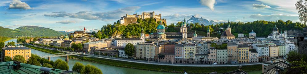 View to Salzburg Skyline from, Austria Fototapete